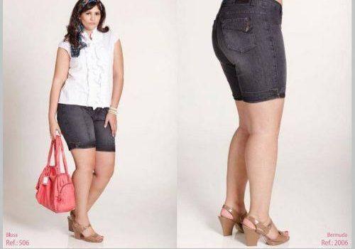 blusas y shorts para gorditas