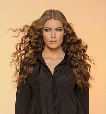 peinados en cabello ondulado