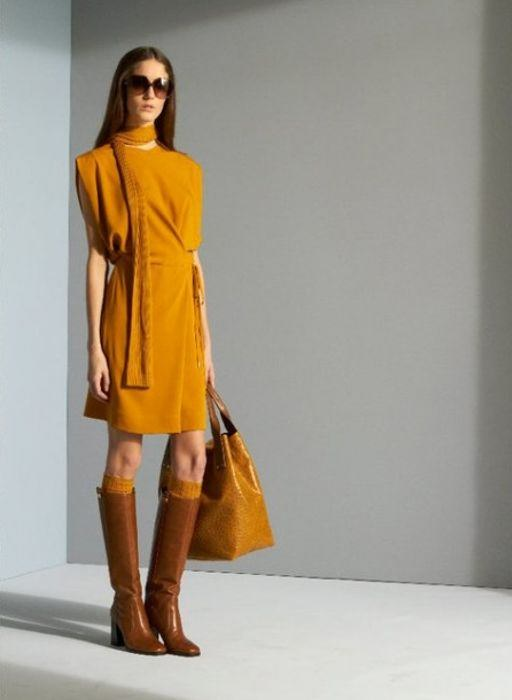 trajes coloridos de temporada