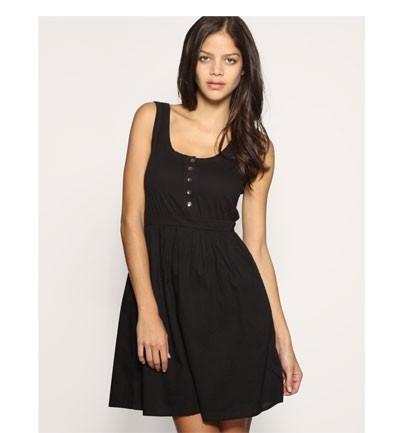 Vestidos negros sencillos