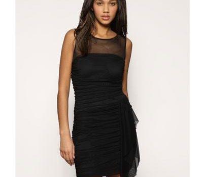 vestidos casuales color negro