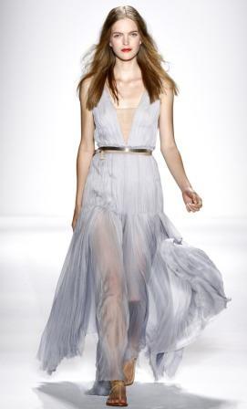 vestidos elegantes de gasa