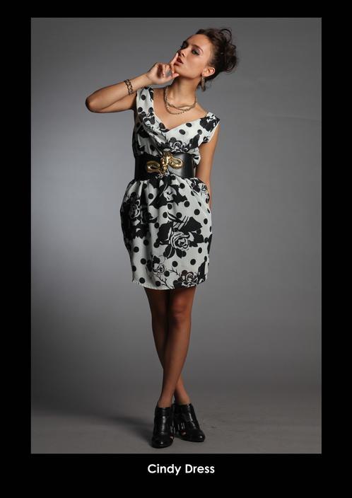 moda en negro y blanco