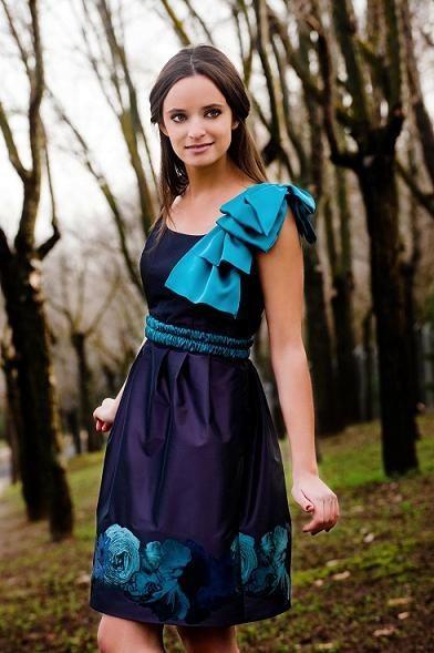 vestidos tonos tornasolados