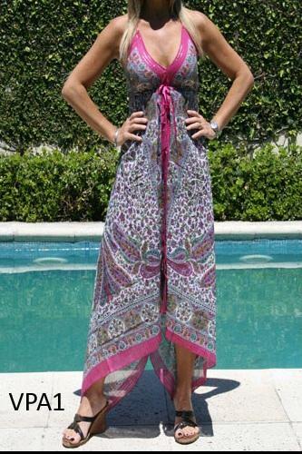 vestidos tipo pañuelo