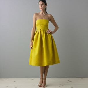 vestidos casuales color amarillo
