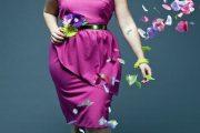 Elegantes y hermosos vestidos cortos para gorditas