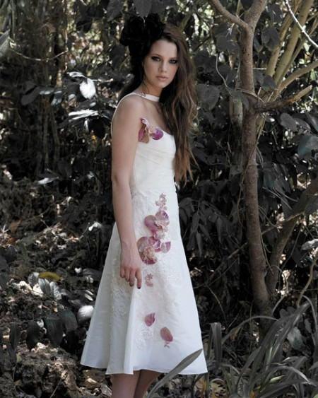 vestidos modernos para novias