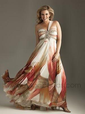 vestidos gorditas modernos