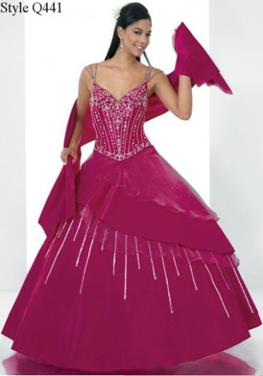 vestidos esponjosos