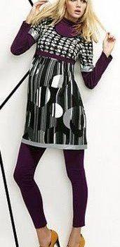 moda colorida para gestantes