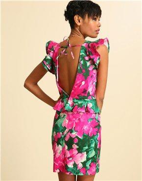 vestidos casuales floreados