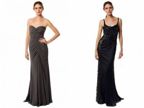 vestidos fruncidos