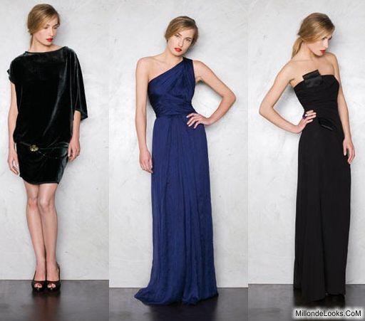 vestidos sencillos elegantes