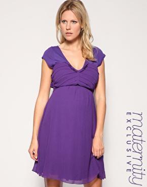 vestidos cortos embarazadas