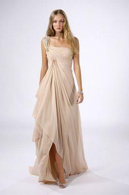 vestidos drapeados modernos