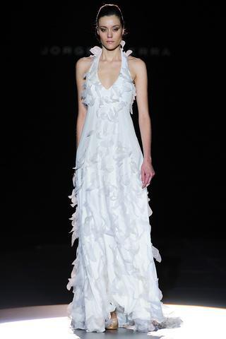 coleccin de vestidos para novia de jorge terra