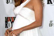 Vestidos de fiesta de famosas embarazadas