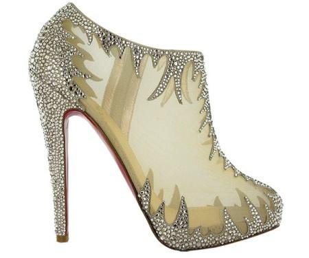 christian louboutin zapatos de novia