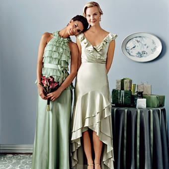 vestidos cortos damas de honor