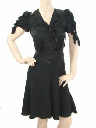 vestido cortos negros