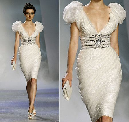 vestidos muy brillantes