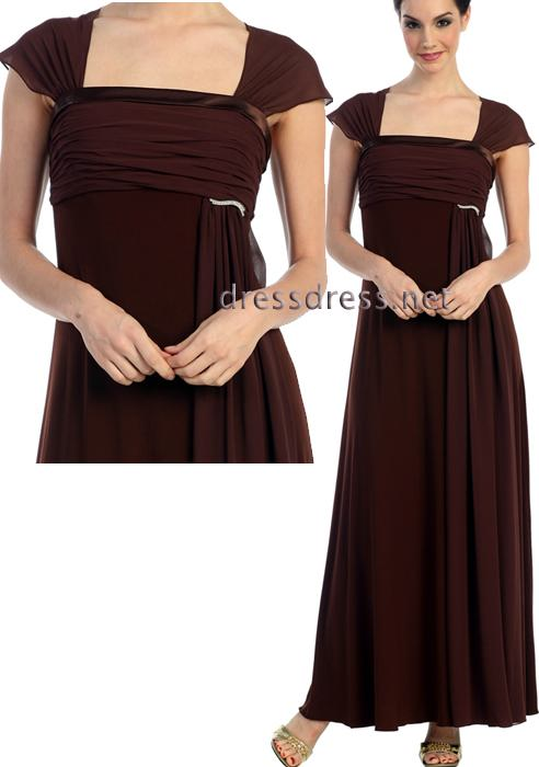 trajes marrones