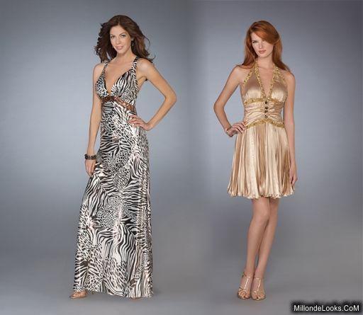 vestidos largos brillantes