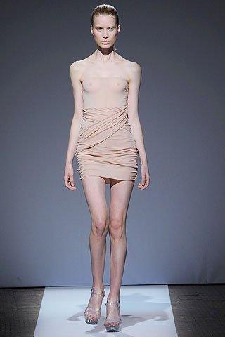 vestidos transparentes