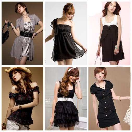 combinar el negro con diferentes tipos de prendas