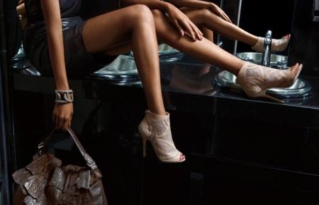 zapatos llamativos
