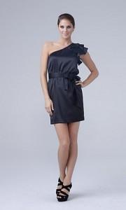 vestidos cortos color negros
