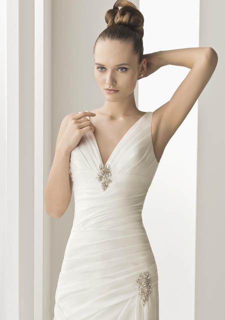trajes pomposos para novias