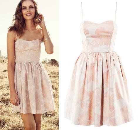 vestidos colores pastel