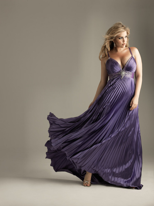 vestidos de noche gorditas