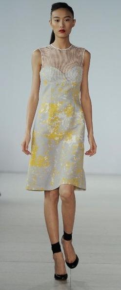 vestidos beige