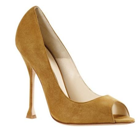 zapatos altos modernos