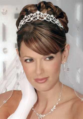 peinado novia on peinados para novias con velo moda vestidos de boda complementos - Peinados De Novia Con Velo