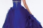 Más vestidos para quinceañeras de tonalidades oscuros