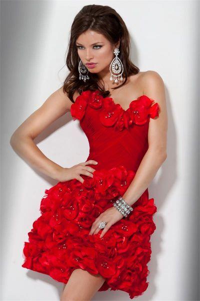 vestidos cortos extravagantes