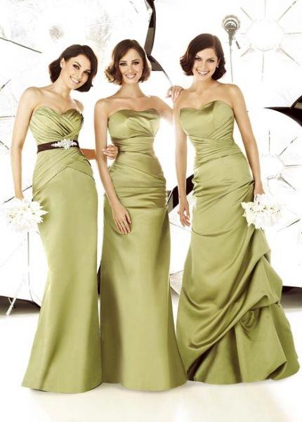 a1a1c20db Vestidos modernos para damas de honor