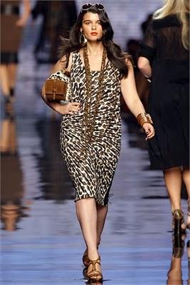 vestidos estampados de animales