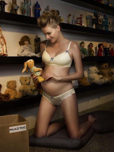 lencería de moda para embarazadas