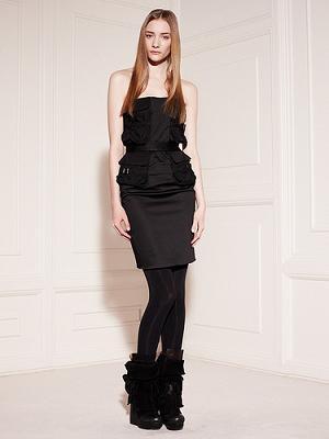 vestidos manga murciégalo