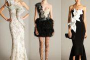 Vestidos de modelos extravagantes