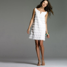 vestidos blancos de playa