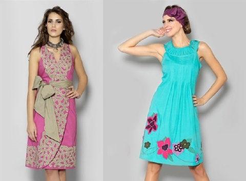trajes de colores