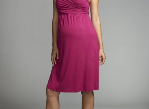 vestidos elegantes de maternidad