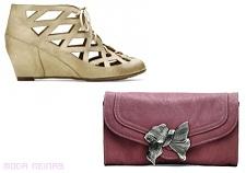 zapatos y bolsos de moda