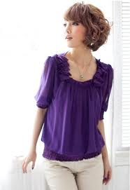 blusas casuales de colores